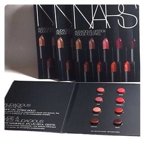 Nars Audacious Lipstick Rouge A Levres Sample Pack